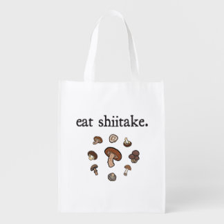 eat shiitake. (mushrooms)