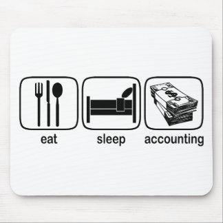 Eat Sleep Accounting Mouse Pad
