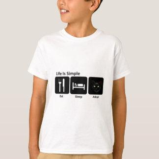 Eat Sleep Adopt T-Shirt
