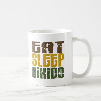 Eat Sleep Aikido 1 Basic White Mug