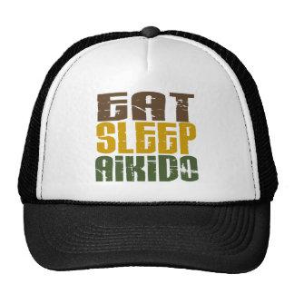 Eat Sleep Aikido 1 Cap