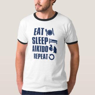 Eat Sleep Aikido T-Shirt