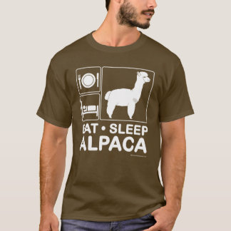 Eat, Sleep, Alpaca T-Shirt