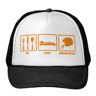 Eat Sleep American Football Trucker Hat