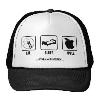Eat. Sleep. Apple. Cap