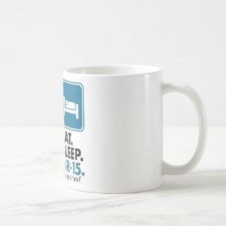 Eat Sleep AR-15 - Blue Mug