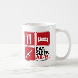 Eat Sleep AR-15 - Red Mug