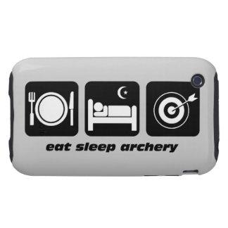 eat sleep archery tough iPhone 3 covers