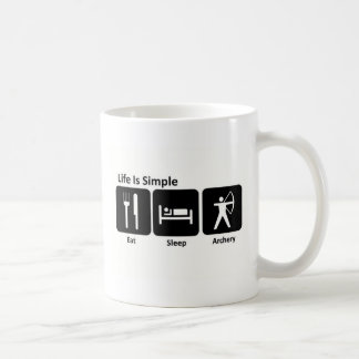 Eat Sleep Archery Coffee Mug