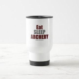 Eat Sleep Archery Stainless Steel Travel Mug
