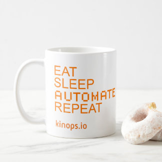 Eat Sleep Automate Mug