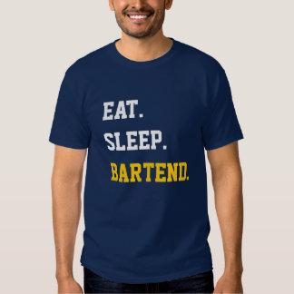 Eat Sleep Bartend Tshirt