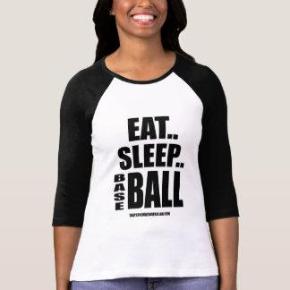 Eat...Sleep...Basebal Shirt