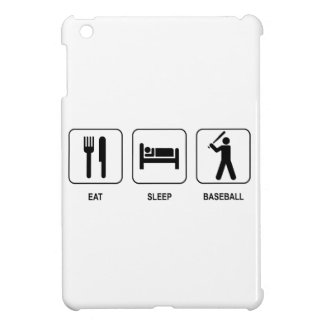 Eat Sleep Baseball iPad Mini Covers