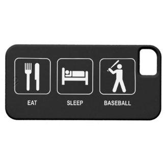 Eat Sleep Baseball iPhone 5 Cover