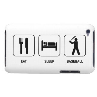 Eat Sleep Baseball iPod Touch Cover