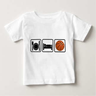 Eat, Sleep, Basketball Baby T-Shirt