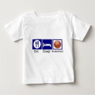 Eat, Sleep, Basketball Baby T-Shirt