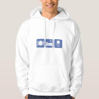 eat sleep basketball hoodie