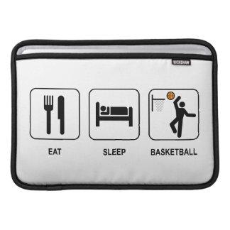 Eat Sleep Basketball Sleeve For MacBook Air