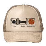 Eat, Sleep, Basketball Trucker Hats