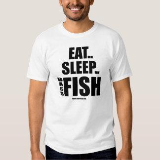Eat Sleep Bass Fish Shirt