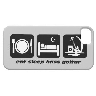 eat sleep bass guitar iPhone 5 covers