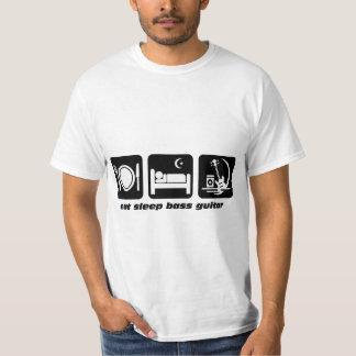 eat sleep bass guitar T-Shirt