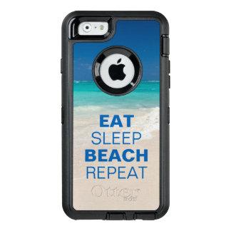 Eat Sleep Beach Repeat OtterBox iPhone 6/6s Case