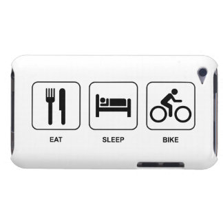 Eat Sleep Bike Barely There iPod Cover