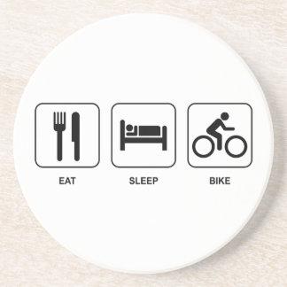 Eat Sleep Bike Coasters
