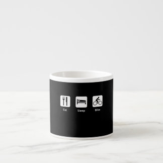 Eat Sleep Bike Espresso Cup