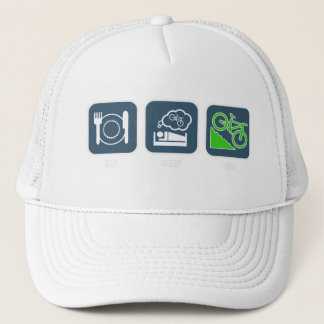 Eat, Sleep, Bike Hat