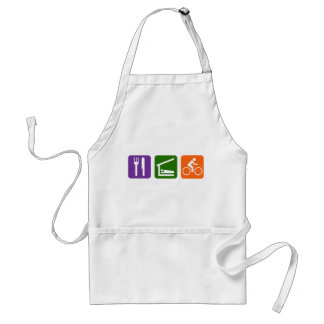 Eat Sleep Biking Standard Apron
