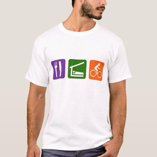 Eat Sleep Biking T-Shirt
