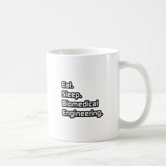 Eat. Sleep. Biomedical Engineering. Basic White Mug