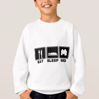 Eat Sleep Bird (bins) Sweatshirt