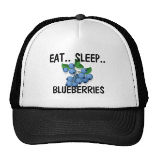 Eat Sleep BLUEBERRIES Cap