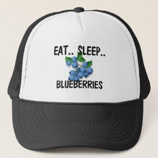 Eat Sleep BLUEBERRIES Trucker Hat