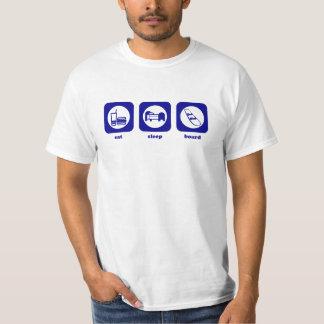 Eat. Sleep. Board. T-shirt