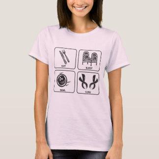 Eat, Sleep, Bowl, Cure T-Shirt