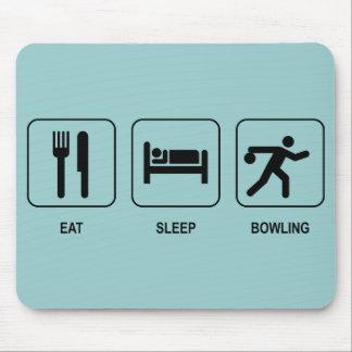 Eat Sleep Bowling Mousepad