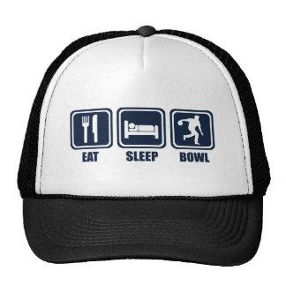 Eat Sleep Bowling Repeat Cap