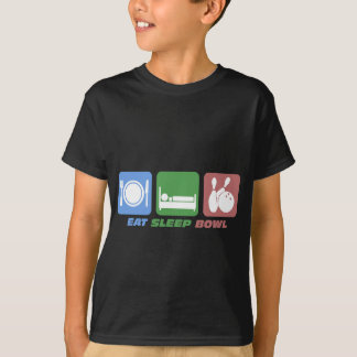 eat sleep bowling T-Shirt
