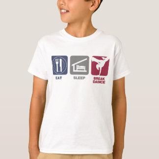 Eat Sleep Breakdance - Girl Tshirts