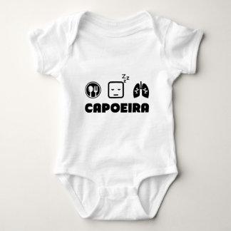 Eat Sleep Breathe Capoeira Baby Bodysuit