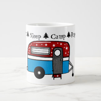 Eat Sleep Camp Repeat  Coffee Mug *CUSTOMIZE*