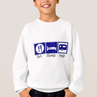 Eat, Sleep, Camp Sweatshirt