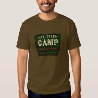 Eat. Sleep. Camp Tshirt