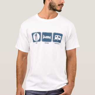 eat, sleep, caravan T-Shirt